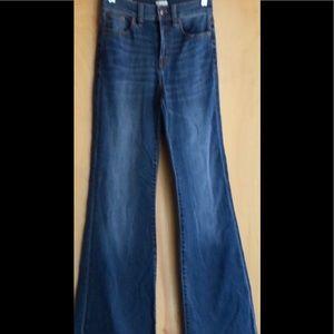 NWT J Crew stretch Flare Jean size 25 style E2438